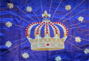Pilgrim's Rock Blog Post by Dr. Craig Biehl - How Darkness and Weakness Become Our Strength - Crown Tapestry Front