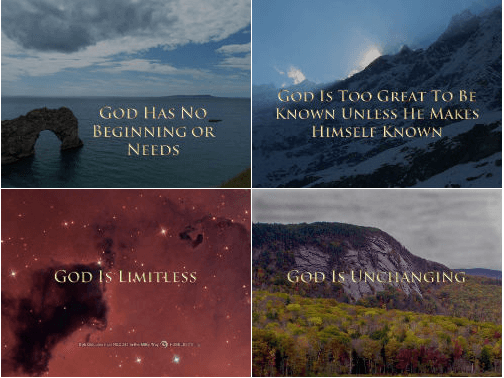 Pilgrim's Rock Online Course Unbreakable Faith: God Is Too Great To Be Known Unless He Makes Himself Known