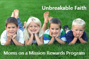 Pilgrim's Rock MOM Rewards Program - Four Kids on Grass