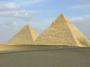 "Big Problems with Explaining Miracles by ""Natural"" Processes - Weekly Blog Post by Dr. Craig Biehl - Great Pyramids Egypt"
